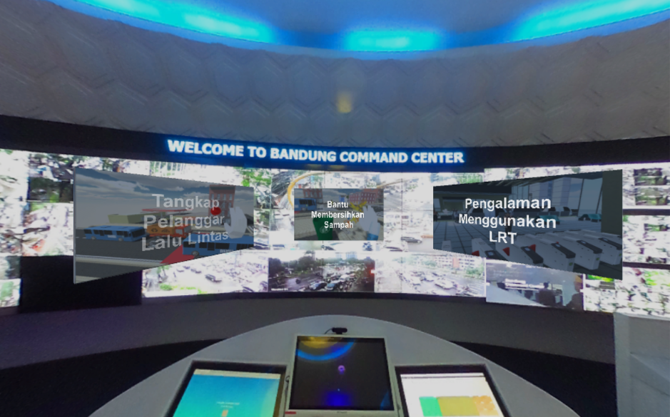 VR Mobility for Bandung Planning Gallery